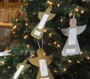 holy angels located in belmont nc provides specialized round the clock care for children and adults with intellectual developmental disabilities and - Christmas Angel Tree
