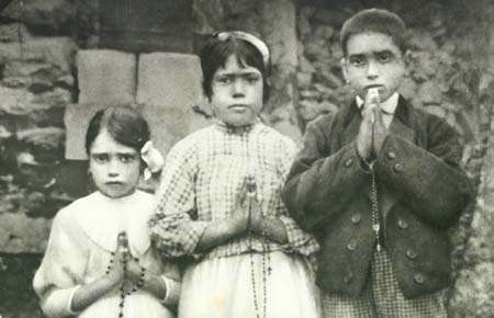 Our Lady of Fatima  Jacinta Lucia Francisco