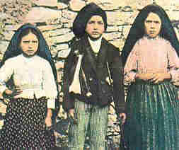 Our Lady of Fatima Jacinta Francisco Lucia